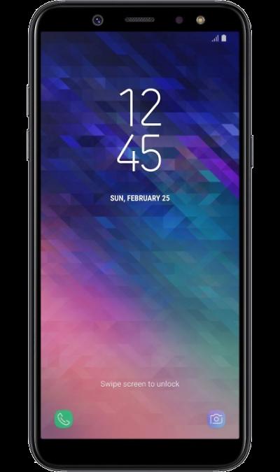 Samsung Смартфон Samsung Galaxy A6 (2018) 32GB Black (черный) смартфон samsung galaxy a5 2017 4g 32gb black