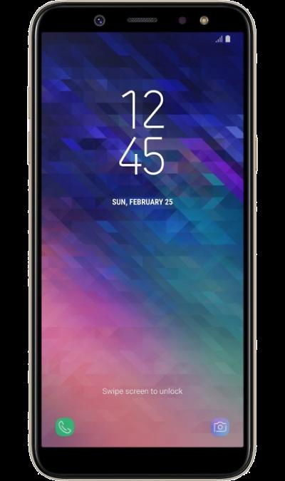 Samsung Смартфон Samsung Galaxy A6 (2018) 32GB Gold (золотистый) смартфон