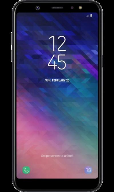 Samsung Смартфон Samsung Galaxy A6+ (2018) 32GB Black (черный) смартфон samsung galaxy a5 2017 4g 32gb black