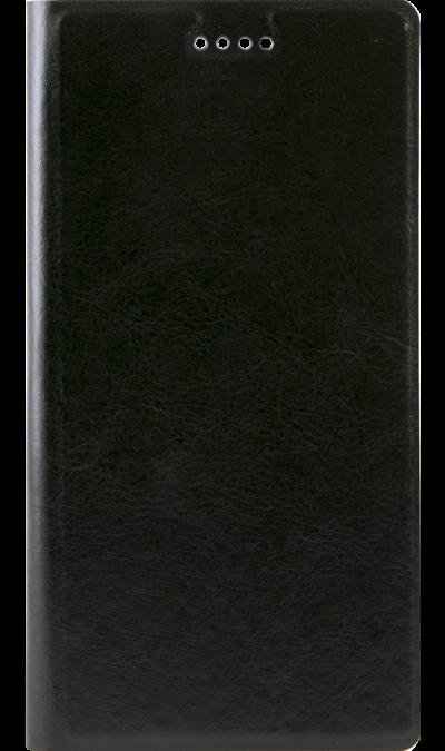 Code Чехол-книжка Code для Xiaomi Redmi 4X, кожзам, черный oysters чехол книжка oysters для t72hms и t74hmi кожзам синий оригинальный
