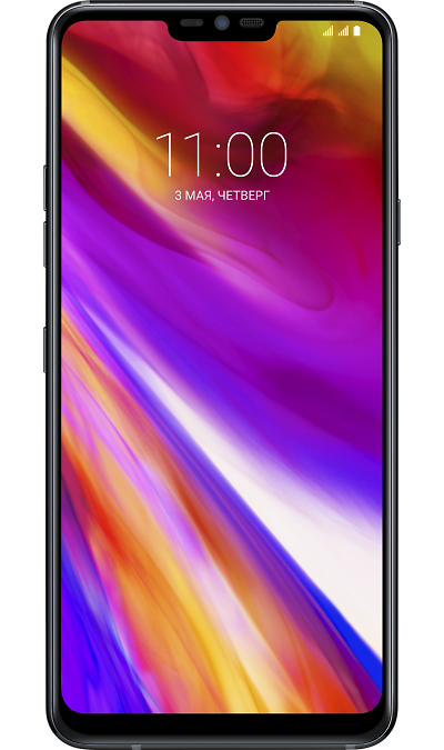 LG Смартфон LG G7 ThinQ 64GB Black (угольно- черный) finesource g7 android 4 4 quad core wcdma bar phone w 5 5 4gb rom wi fi gps ota black