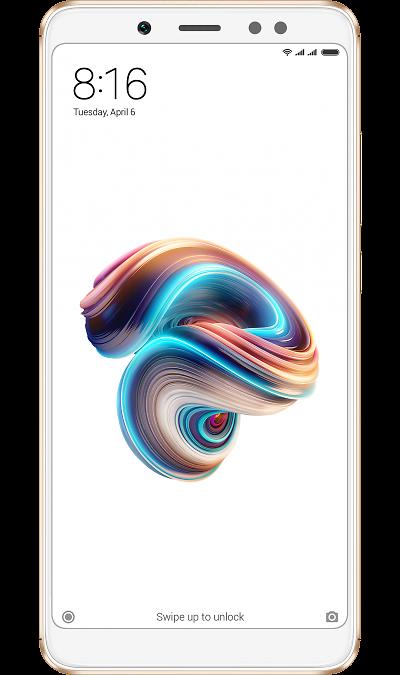 Xiaomi Смартфон Xiaomi Redmi Note 5 3/32GB Gold (Золотой) смартфон micromax canvas juice 4 q465 gold quad core 1 3 ghz 5 hd ips 1280 720 2 gb 16 gb 8mpx 5mpx 4g 3900mah 2 sim android 5 1
