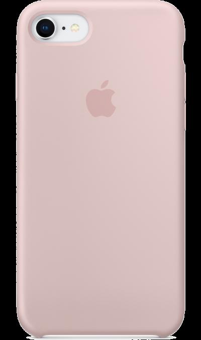 Apple Чехол-крышка Apple для Apple iPhone 7/8, силикон, розовый аксессуар чехол innovation jeans для apple iphone 7 8 white 10774