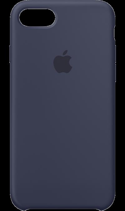 Apple Чехол-крышка Apple для Apple iPhone 7/8, силикон, синий аксессуар чехол innovation jeans для apple iphone 7 8 white 10774