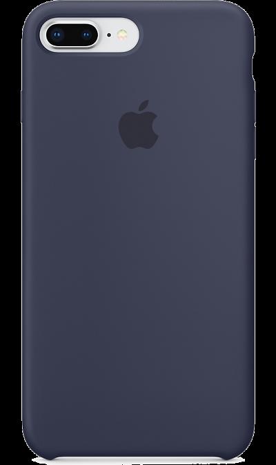Apple Чехол-крышка  для  iPhone 7 Plus/8 , силикон, синий