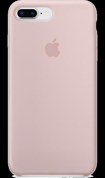Apple Чехол-крышка Apple для Apple iPhone 7 Plus/8 Plus, силикон, розовый аксессуар чехол ipapai животные единорог для apple iphone 7 120507 7