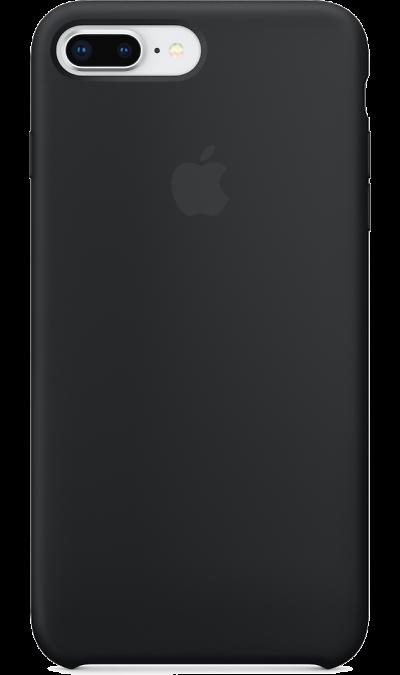 Apple Чехол-крышка Apple для Apple iPhone 7 Plus/8 Plus, силикон, черный bluetooth headphones for apple iphone7 iphone 7 plus samsung galaxy note 7 wireless stereo sportsheadsets running mic fm radio