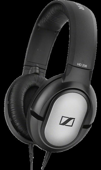 Наушники Sennheiser HD 206, стерео (черные)