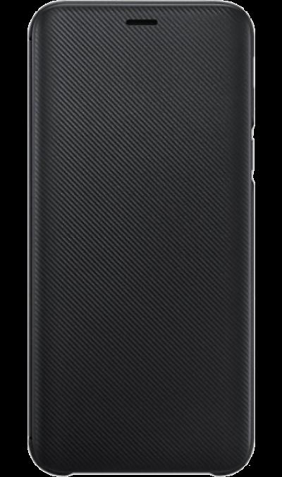 Чехол-книжка Samsung WJ600CBEGRU для Galaxy J6 (2018), полиуретан, черный фото