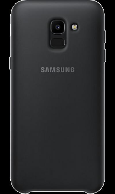Чехол-крышка Samsung PJ600CBEGRU для Galaxy J6 (2018), полиуретан, черный фото