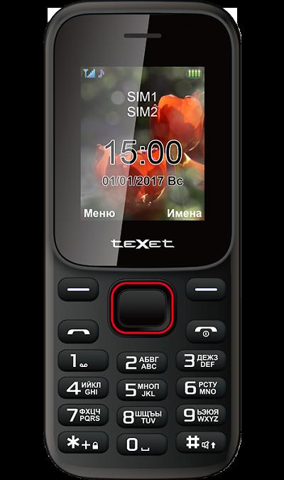 Texet Телефон teXet TM-128