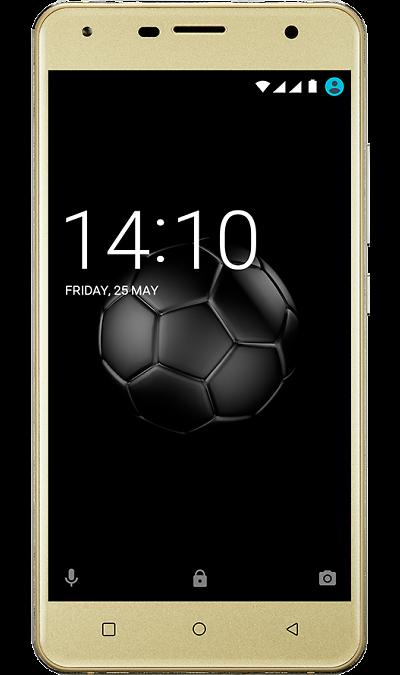 Prestigio Смартфон Prestigio Muze X5 LTE Gold (золотистый) смартфон prestigio muze b7 черный 5 16 гб wi fi gps 3g psp7511duoblack
