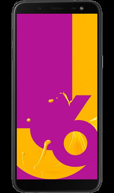 Samsung Смартфон Samsung Galaxy J6 (2018) 32GB Black (черный) смартфон