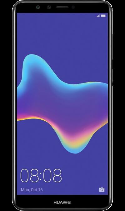 Huawei Смартфон Huawei Y9 (2018) Black (черный) смартфон fly nimbus 10 fs512 черный