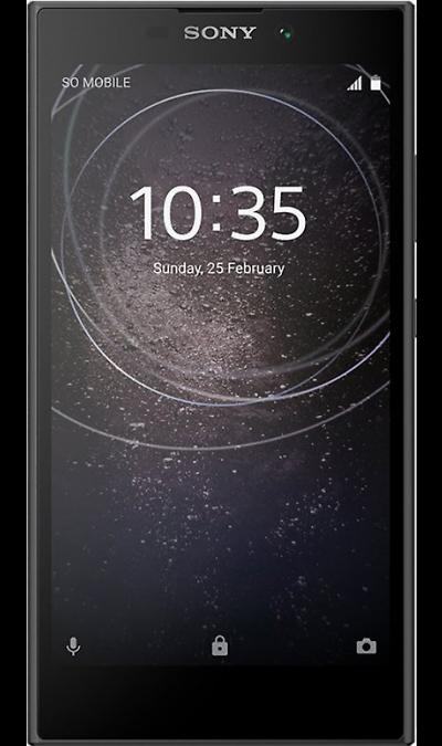 Sony Смартфон Sony Xperia L2 Black (черный) смартфон sony xperia x compact f5321 4g 32gb black