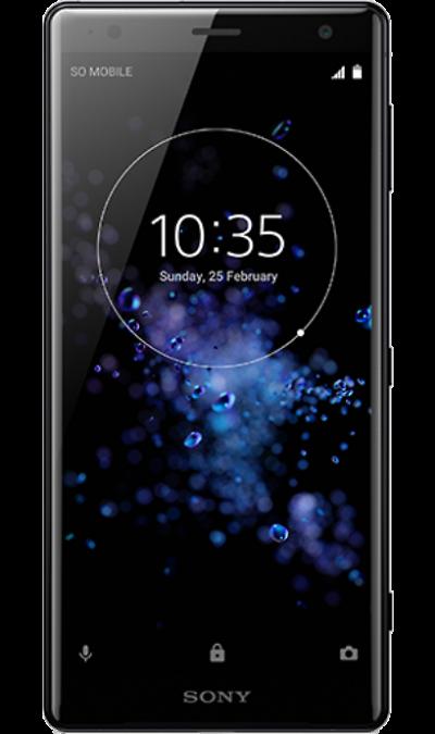 Sony Смартфон Sony Xperia XZ2 Black (черный обсидиан) смартфон sony xperia x compact f5321 4g 32gb black