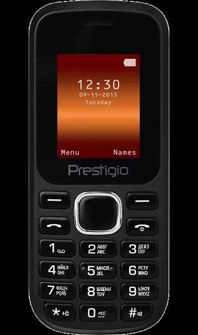 Prestigio Телефон Prestigio Wize F1 Black