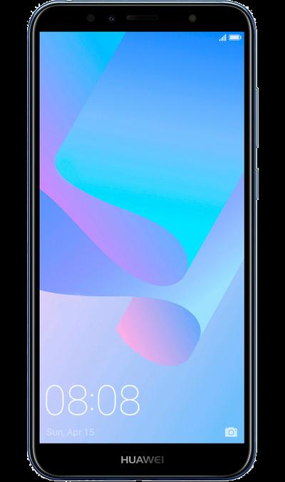 Huawei Смартфон Huawei Y6 Prime (2018) 16GB Blue (синий) смартфон fly fs518 cirrus 13 4g 16gb midnight blue