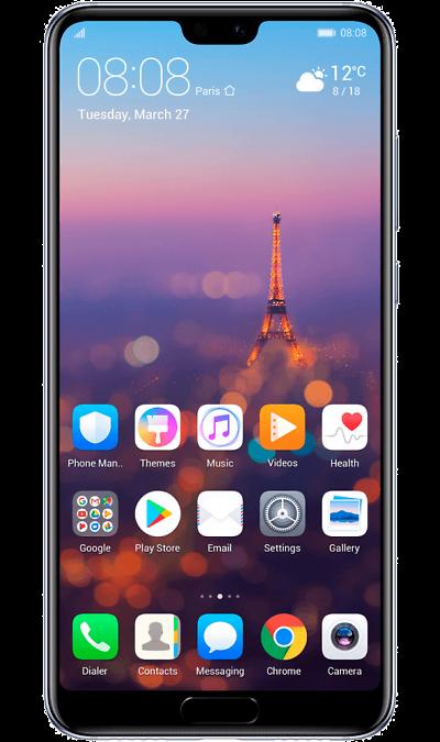 Huawei Смартфон Huawei P20 Pro (полночный синий) смартфон huawei смартфон huawei p20 pro полночный синий