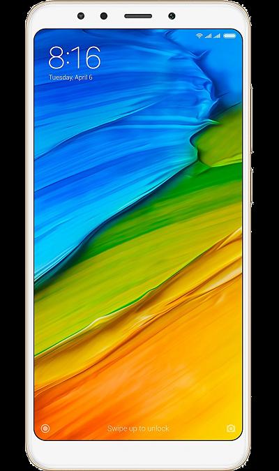 Xiaomi Смартфон Xiaomi Redmi 5 3/32GB Gold (золотистый) смартфон xiaomi redmi 4x 16gb gold