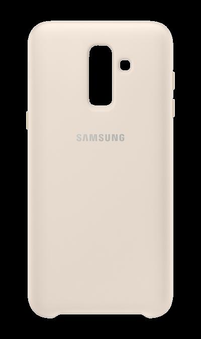 Чехол-крышка Samsung для Galaxy J8, полиуретан, бежевый фото