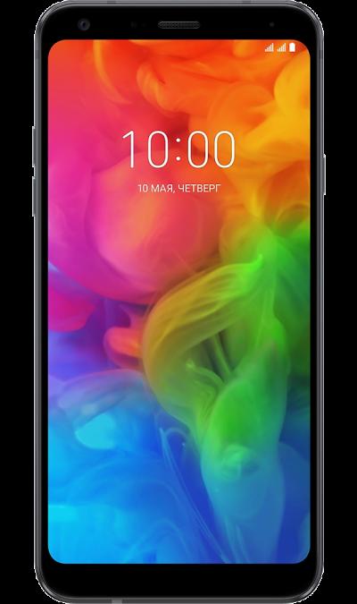 LG Смартфон  Q7+ синий