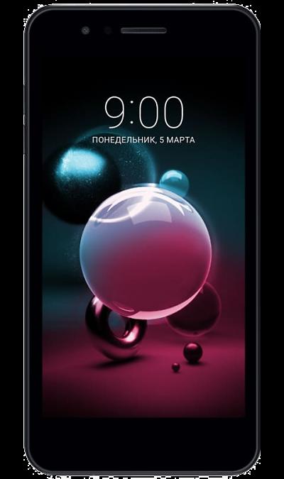 LG Смартфон LG K9 Black (черный) смартфон fly nimbus 10 fs512 черный