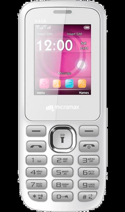 Micromax Телефон Micromax X406 мобильный телефон micromax x406