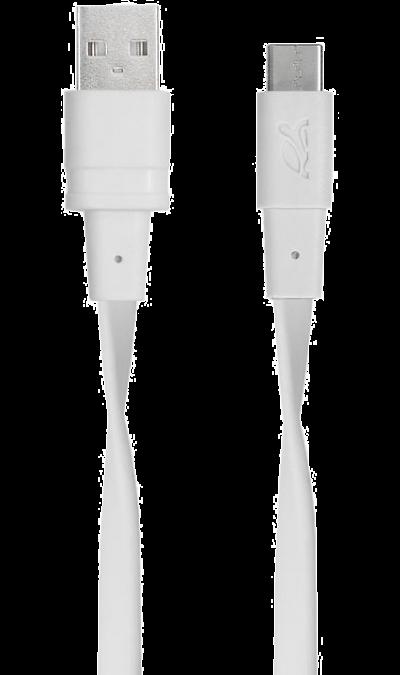 Кабель RIVACASE Type-C 2.0 (белый)