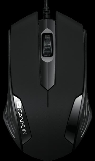 Мышь Canyon CNE-CMS02B Black
