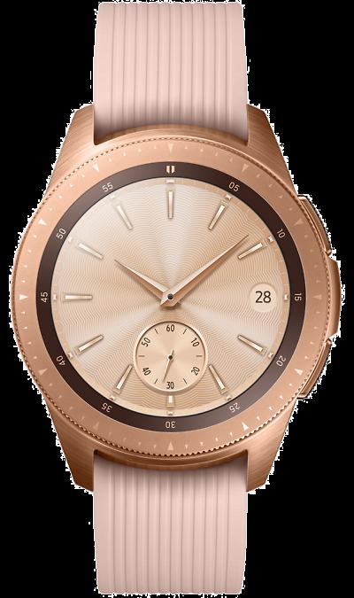 Часы Samsung Galaxy Watch (42 mm) розовый