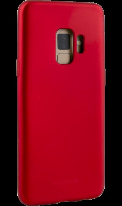 Чехол-крышка Miracase 8019 для Samsung Galaxy S9, полиуретан, красный фото