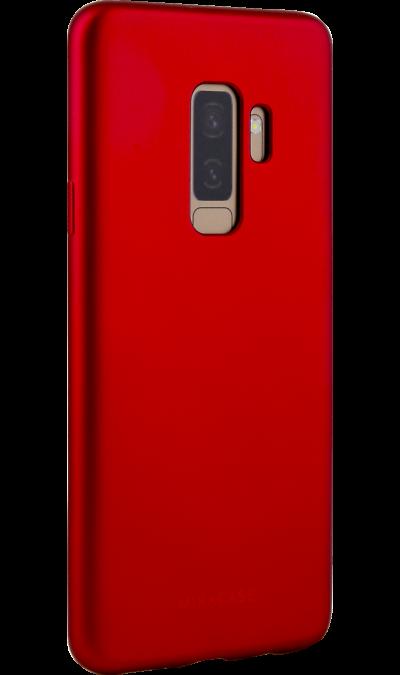 Чехол-крышка Miracase 8019 для Samsung Galaxy S9+, полиуретан, красный фото