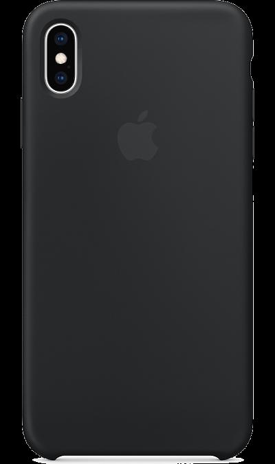 Чехол-крышка Apple MRWE2ZM/A для iPhone XS Max, силикон, черный фото