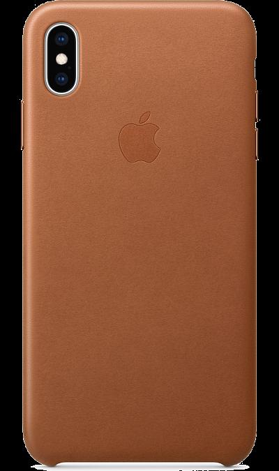 Чехол-крышка Apple MRWV2ZM/A для iPhone XS Max, кожа, коричневый фото