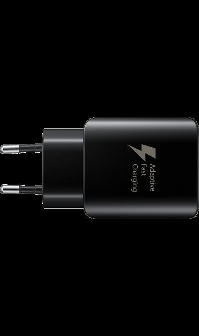 Зарядное устройство сетевое Samsung Type-C (черное) фото