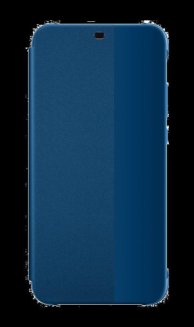 Чехол-книжка Huawei для P20 Lite, полиуретан, синий фото