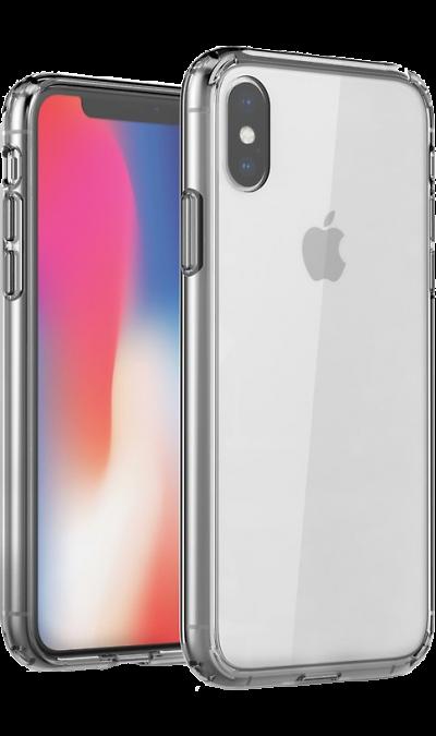 Чехол-крышка Uniq LifePro Xtreme для iPhone XS Max, силикон, прозрачный фото