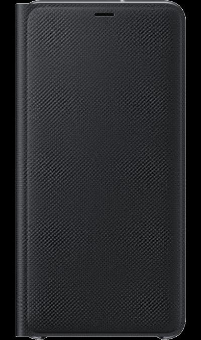 Чехол-книжка Samsung Flip Wallet для Galaxy A7 (2018), полиуретан, черный фото