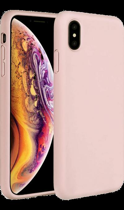 Чехол-крышка Miracase 8812 для iPhone X/XS, полиуретан, розовое золото фото