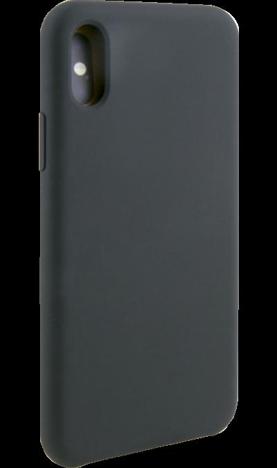 Чехол-крышка Miracase 8812 для iPhone XR, полиуретан, черный фото