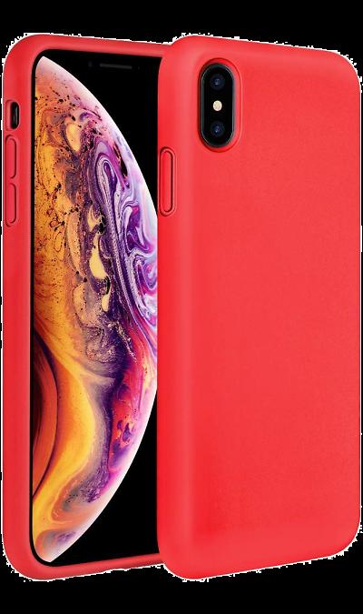 Чехол-крышка Miracase 8812 для iPhone XS Max, полиуретан, красный фото