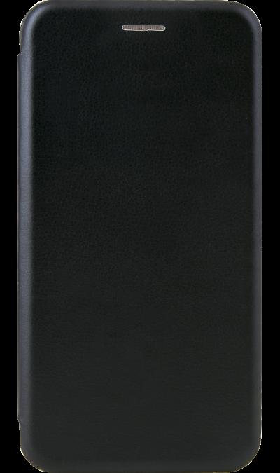Чехол-книжка Deppa для Honor 8C, полиуретан, черный фото