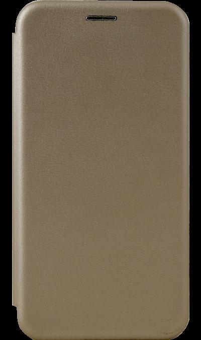 Чехол-книжка Deppa для Honor 8 Lite, кожзам, золотистый фото