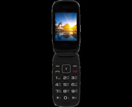463d90ebe8038 Купить Телефон Fly Flip Black по выгодной цене в Москве в интернет ...