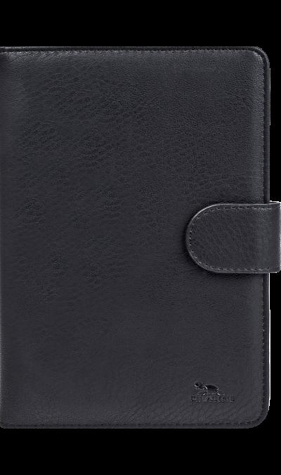 Чехол-книжка RIVACASE 3012 универсальный 7'', кожзам, черный