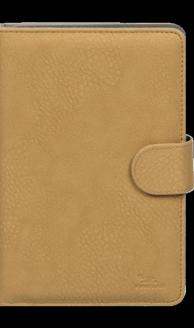 Чехол-книжка RIVACASE 3014 универсальный 8'', кожзам, бежевый