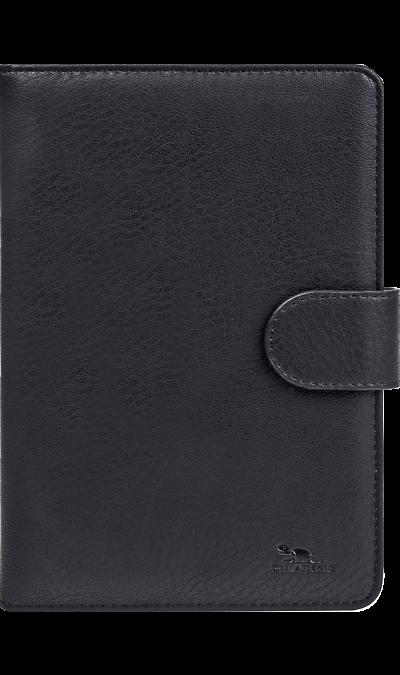 Чехол-книжка RIVACASE 3017 универсальный 10,1'', кожзам, черный