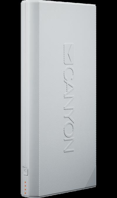 Аккумулятор Canyon CPBF160G, Li-Ion, 16000 мАч, белый