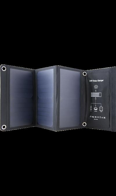 Зарядное устройство на солнечных батареях Bron Solar 4.2А BRN-SP-021 (черное) фото